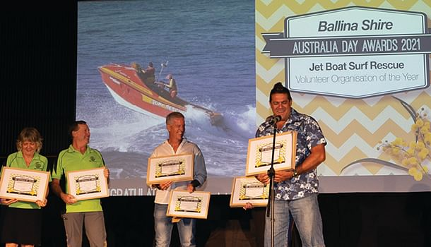 Jet Boat Rescue and Rotary Club of Ballina-on-Richmond